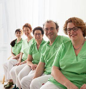 Praxis Dr. Walz Das Team