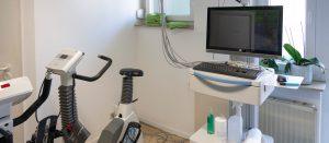 EKG Messung Praxis Dr. Walz Horb