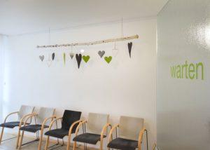 Warteraum Praxis Dr. Walz Horb